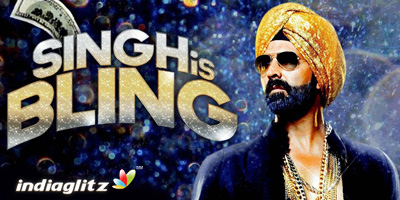 Singh Is Bling Peview