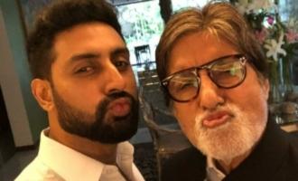Abhishek Bachchan recalls Amitabh Bachchan's days of bankruptcy
