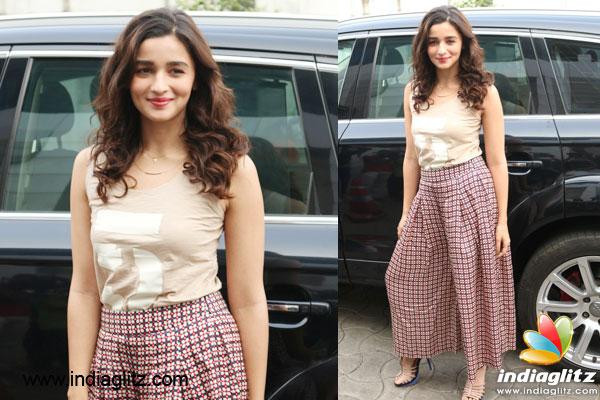 Alia Bhatt Pajama Is Sexy