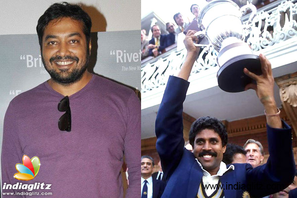 Anurag Kashyap to make film on India's 1983 World Cup win