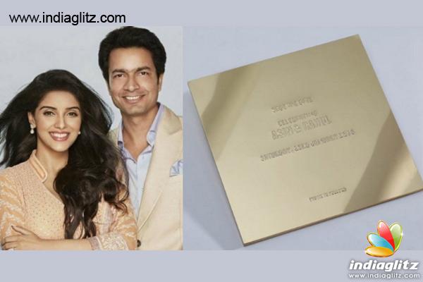 Revealed Asin S Wedding Invitation Card Kannada News