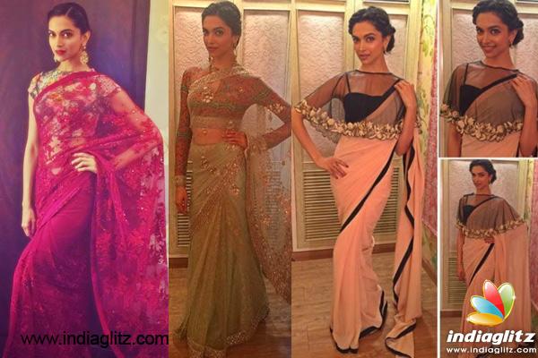 REALLY! Deepika Padukone prefers Sari to Gown!! - Bollywood Movie ...