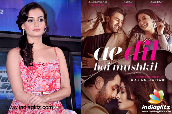 The Lovely Actress Cum Producer Dia Mirza Says That It Is Unfair To A Target Film Like Ae Dil Hai Mushkil Involves 99 Per Cent Indian Crew Members