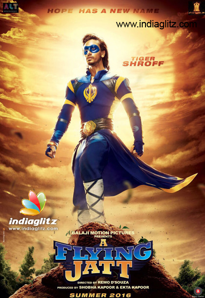 Checkout: Tiger Shroff's first look in 'A Flying Jatt