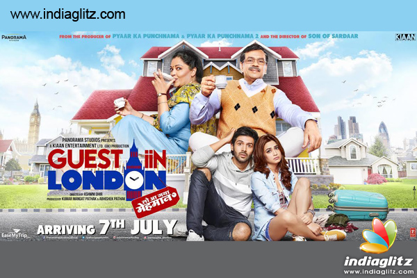 The Makers Of Guest Iin London Have Released A Brand New Poster Film