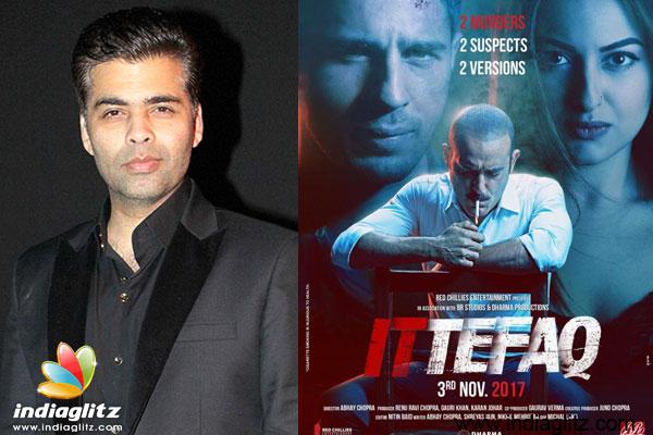With A Film Like Ittefaq Less Is More Karan Johar Kannada