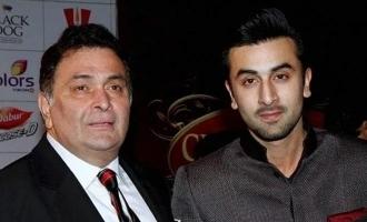 Here's how Rishi Kapoor used to keep tabs on Ranbir