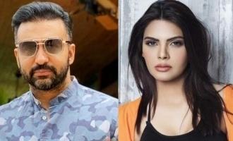 Sherlyn Chopra reacts on Raj Kundra's arrest