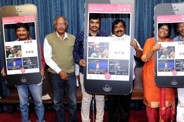 Just Local app, Shivashanker brainchild - Kannada News