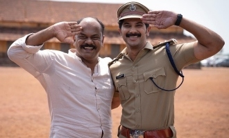 Dulquer Salmaan resumes the shoot of 'Salute'