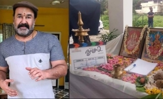 Mohanlal's Drishyam 2 starts rolling; Pooja photos are here!