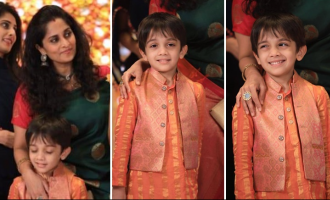 Actress Shalini and son Aadvik's latest pictures turn viral