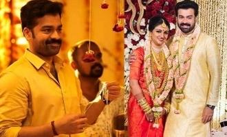 Popular actor Arjun Nandakumar enters wedlock