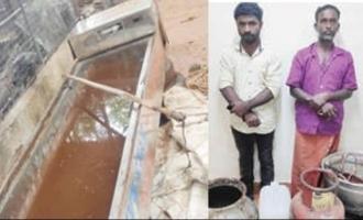 Mobile mortuary used for distilling arrack; Ambulance driver arrested