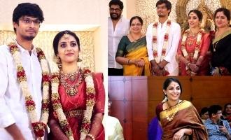 Celebrities at Bhagyalakshmi's son's wedding