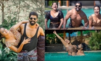 Theri actor Bineesh Bastin's glamorous photoshoot with models go VIRAL!