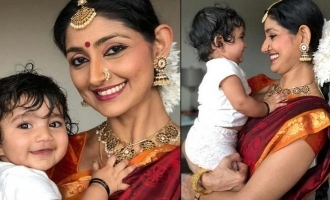 Divya Unni shares a lovely picture with her baby girl