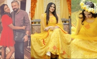 Jayaram's daughter's Haldi pictures set social media on fire!