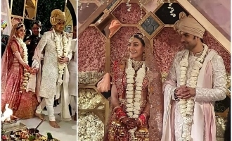 Pictures of Kajal Aggarwal-Gautham's fairytale wedding