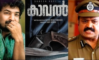 Kaval Shoot: Suresh Gopi is back in ACTION!