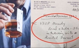 COVID-19: Kerala doctor prescribes liquor with roasted peanuts; VIRAL