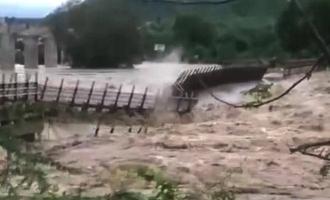 Watch: 2 bridges washed away due to flood in Madhya Pradesh