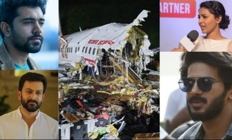 Mollywood celebs pray for victims of plane crash and landslide