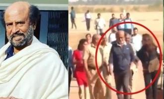 Superstar Rajinikanth shoots for 'Man Vs Wild'