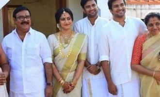 Maniyanpilla Raju's son enters wedlock
