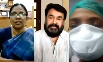 VIRAL: Mohanlal video conference with health workers, sings for them