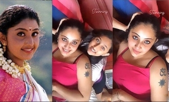 Watch: Video of actress Nithya Das twinning with her daughter