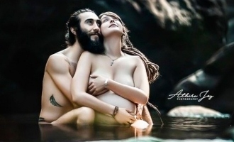 Kerala's first nude maternity photo shoot; photos viral