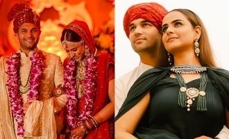 Mamangam actress Prachi Tehlan's wedding stills