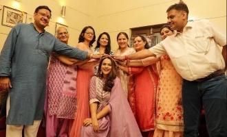 PHOTOS: Mamangam actress Prachi Tehlan's pre-wedding ceremony begins!