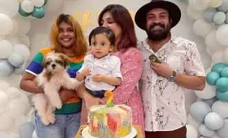 Birthday celebration pics of actor Soubin Shahir's son go VIRAL!