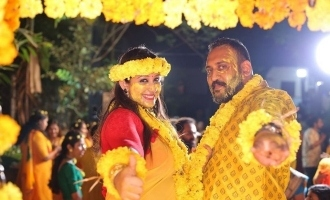 Sowbhagya Venkitesh's mehendi function photos are viral!