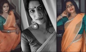 Swasika's latest saree photoshoot goes VIRAL!