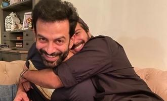 Prithviraj sends birthday wishes to Dulquer Salmaan