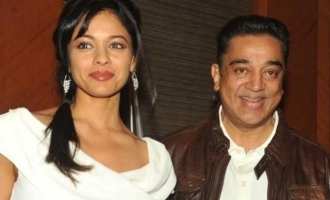 Pooja Kumar posts photos with Kamal Haasan and expresses her happiness