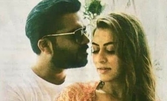 Simbu - Hansika's new still goes viral