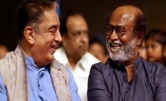 Kamal Haasan's birthday wishes to Rajinikanth