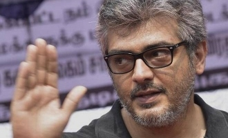 Thala Ajith's stunning new look!
