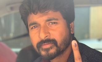 Breaking ! Sivakarthikeyan fights for his right to vote and wins