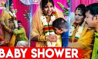 Aranthangi Nisha Baby shower function fun video