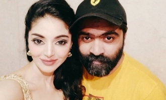 Simbu's selfie with 'Bigg Boss 3' Tharshan's girlfriend goes viral