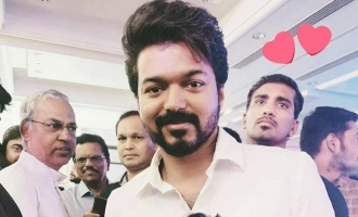 Thalapathy Vijay in family mode at engagement ceremony