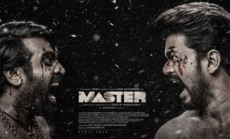 Mindblowing! Vijay and Vijay Sethupathi kill it together in Master third look