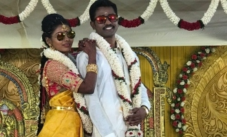 Young Tamil actress gets married