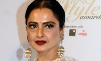 Actress Rekha's bungalow sealed after a coronavirus positive case