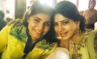 Chinmayi back toTamil and thanks Samantha!